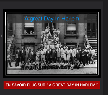 "Le documentaire réalisé en 1958 ""A great Day in Harlem"""
