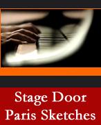 Stage Door Paris Sketches