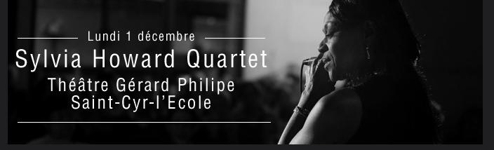 Sylvia Howard Quartet  Théâtre Gérard Philipe Saint-Cyr-l'Ecole
