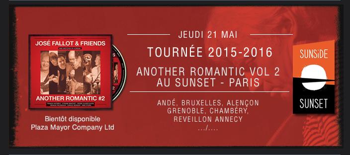 Tournée Another romantic Vol 2