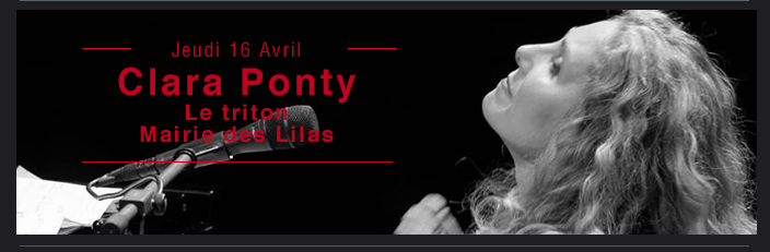 Clara Ponty au Triton
