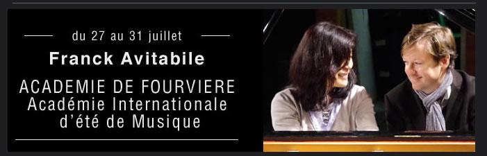 Franck Avitabile Académie de Fourviere
