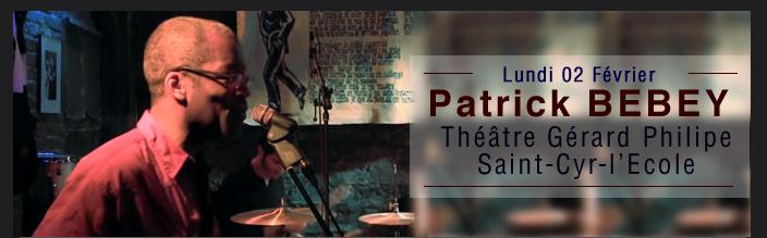 Patrick BEBEY Théâtre Gérard Philipe Saint-Cyr-l'Ecole