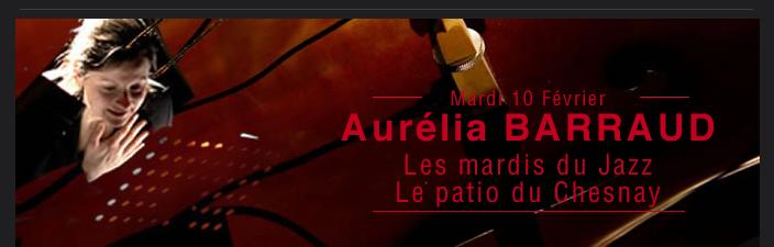 Aurélia BARRAUD Les mardis du Jazz Le patio du Chesnay