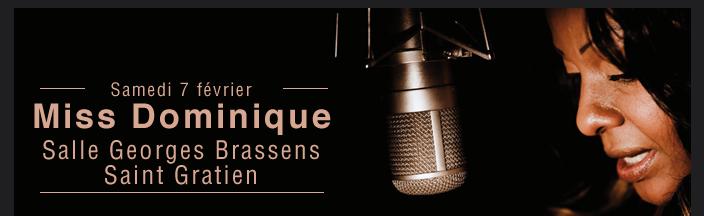 Miss Dominique Salle Georges Brassens Saint Gratien