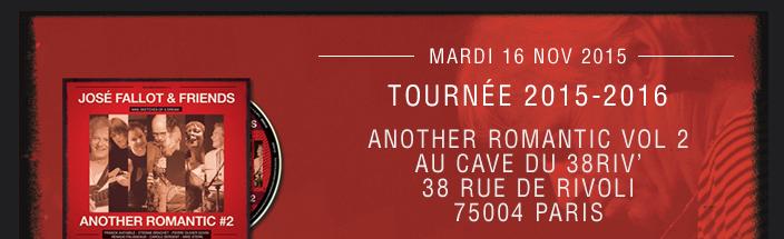 ANOTHER ROMANTIC VOL 2 AU CAVE DU 38RIV' 38 RUE DE RIVOLI 75004 PARIS