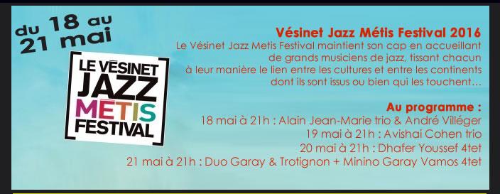 Vésinet Jazz Métis Festival