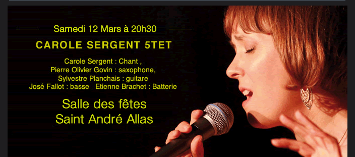 Carole Sergent 5tet