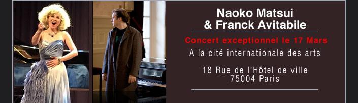 Naoko Matsui & Franck Avitabile