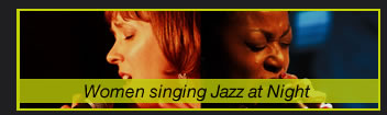 Women singing Jazz at Night