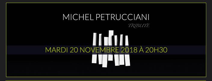 Michel Petrucciani : MARDI 20 NOVEMBRE 2018 À 20H30