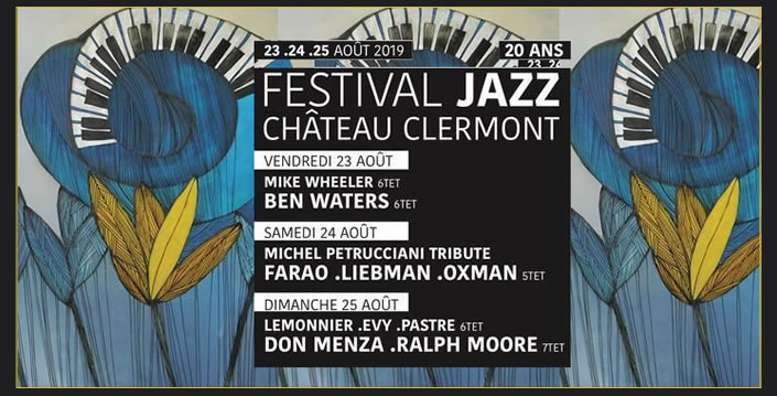 JAzz Chateau de Clermont