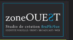 studio de création graphique zoneOUEST