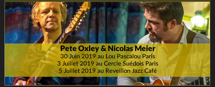 Pete Oxley et Nicolas Meier