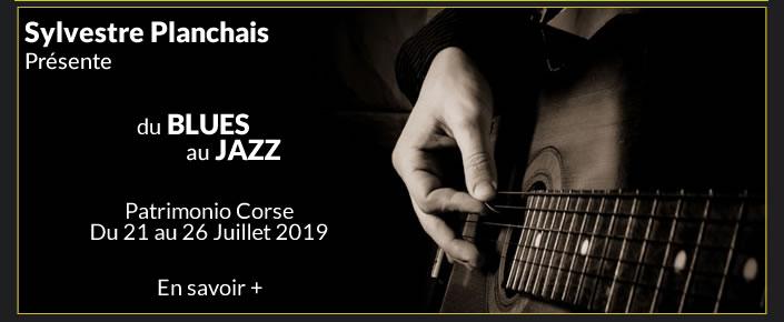 Du Blues au Jazz avec Sylvestre Planchais