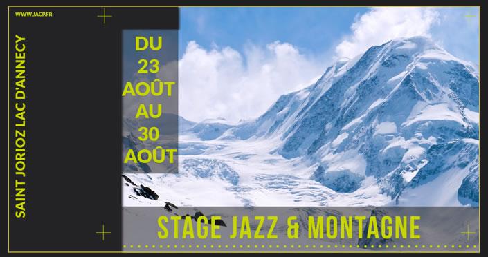 Stage Jazz et montagne 2020