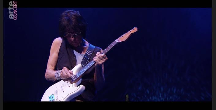 Jeff Beck Sur Arte Concert